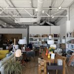 Outback Plaza furniture storage room